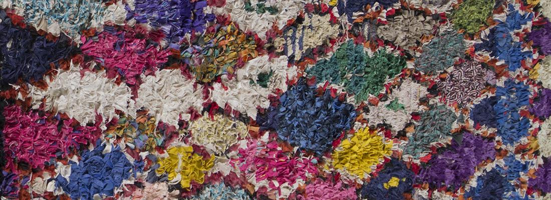 boucherouite vintage tapijten