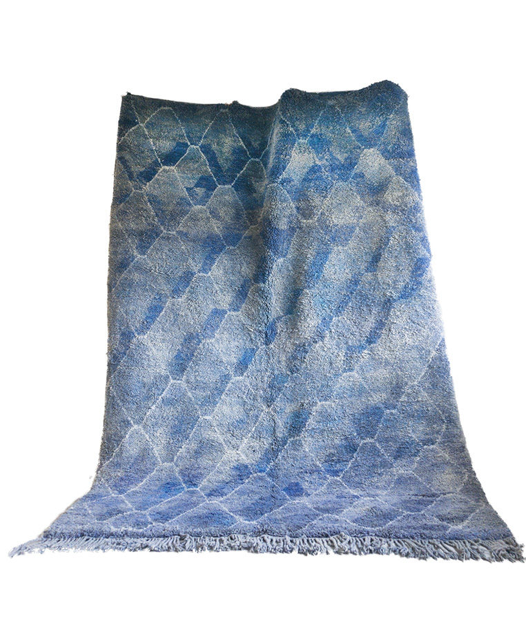 Beni Mrirt berber carpet Vainly Navy