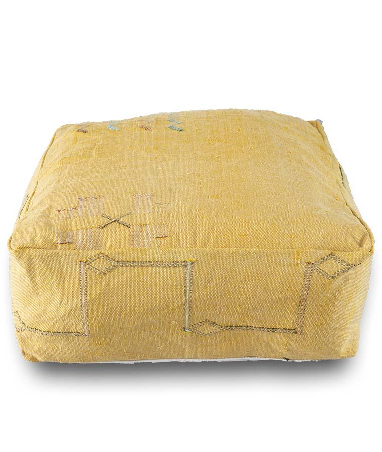 cactus silk pouf