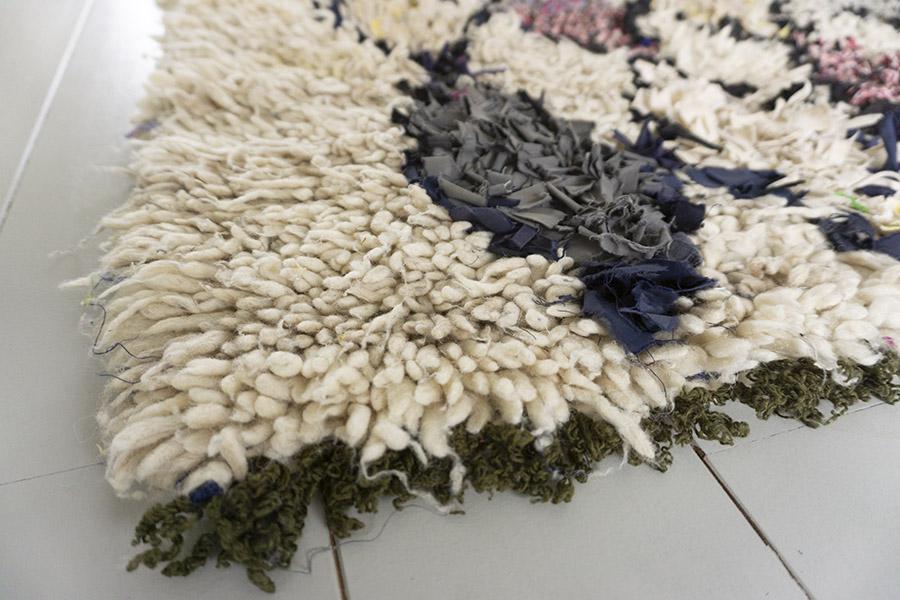 boucherouite berber carpet